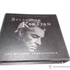 CDs de Música: SELECCIÓN KARAJAN. Lote 50856321