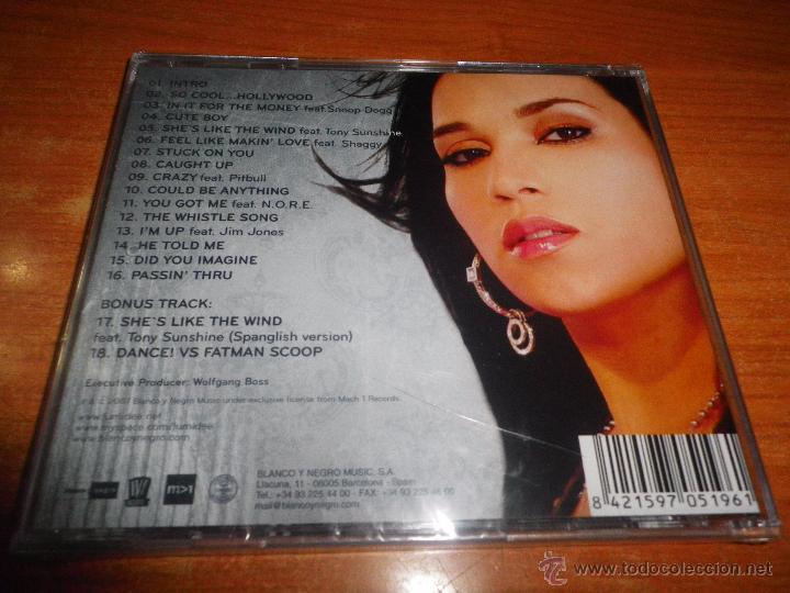 CDs de Música: LUMIDEE Unexpected CD ALBUM DEL AÑO 2007 BLANCO Y NEGRO PITBULL SNOOP DOGG TONY SUNSHINE SHAGGY - Foto 2 - 50872268