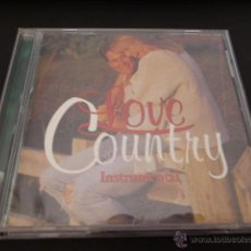 CDs de Música: LOVE COUNTRY. INSTRUMENTAL. 20 TEMAS. Lote 50898003