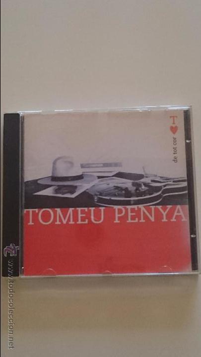 CD TOMEU PENYA - DE TOT COR - AÑO / ANY 1997 - CANTAUTOR DE BALEARS (Música - CD's Melódica )