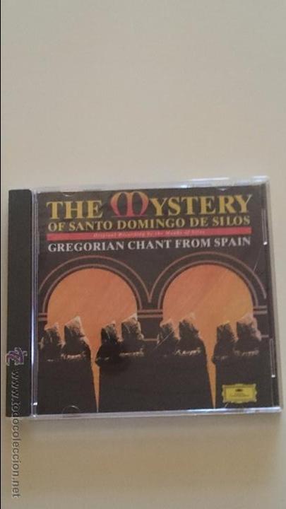 CD THE MYSTERY OF SANTO DOMINGO DE LOS SILOS - GREGORIAN CHANT FROM SPAIN (Música - CD's Otros Estilos)