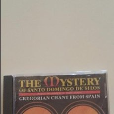 CDs de Música: CD THE MYSTERY OF SANTO DOMINGO DE LOS SILOS - GREGORIAN CHANT FROM SPAIN. Lote 50912213