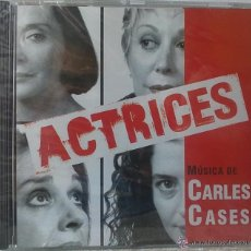 CDs de Música: ACTRICES – CARLES CASES - PRECINTADO - CD BSO / OST / BANDA SONORA / SOUNDTRACK. Lote 50917577