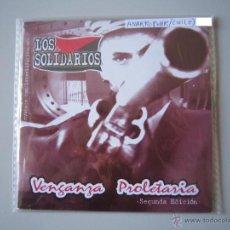 CDs de Música: CD - ANARCO PUNK - LOS SOLIDARIOS (VENGANZA PROLETARIA) - 2008 - SEGUNDA EDICIÓN - IMPORTACIÓN CHILE. Lote 50918313
