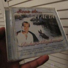 CDs de Música: RICHARD CLAYDERMAN-ECOS DE ITALIA CD 2001--DESCATALOGADO. Lote 276584588
