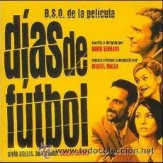 CDs de Música: CD NUEVO PRECINTADO BANDA SONORA ORIGINAL BSO CINE ESPAÑOL DÍAS DE FÚTBOL MIGUEL MALLA SOUNDTRACK. Lote 64288375