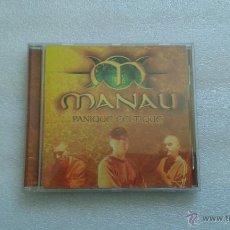 CDs de Música: MANAU - PANIQUE ALTIQUE CD 1998 EDICION FRANCESA RAP POP CELTICO. Lote 50939969