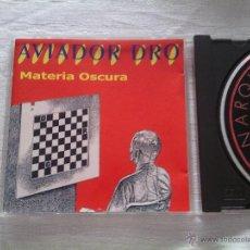 CDs de Música: CD AVIADOR DRO - MATERIA OSCURA / LOLLIPOP / 1998 MOVIDA MADRILEÑA / RARO. Lote 50945383