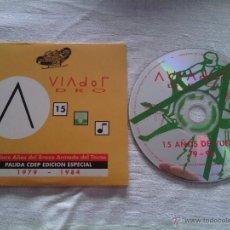 CDs de Música: CD EP AVIADOR DRO - PALIDA / EDICIÓN ESPECIAL / FÁBRICA MAGNETICA / 1994 MOVIDA MADRILEÑA. Lote 50945477