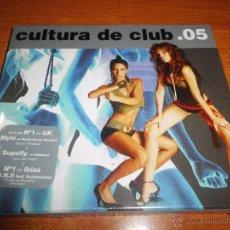 CDs de Música: CULTURA DE CLUB 05 2 CD ALBUM PRECINTADO 2005 WALLY LOPEZ MIAMI SOUND MACHINE DR. KUCHO CD DOBLE. Lote 50955885