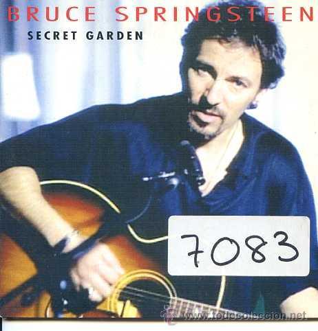 Bruce Springsteen Secret Garden Cd Single Ca Comprar Cds De M Sica Rock En Todocoleccion