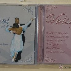 CDs de Música: VALSES VOL. 1 Y 2 - 2 CDS 2002. Lote 50978643