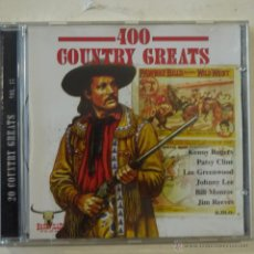 CDs de Música: 20 COUNTRY GREATS VOL. 15 - CD 1999. Lote 50979771