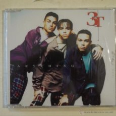 CDs de Música: 3T - ANYTHING - CD SLIM DE 6 CANCIONES - PRECINTADO. Lote 50982721