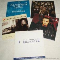 CDs de Música: CINCO CDS VARIADOS (7 LEGUAS- NEK ETC VER FOTOS ADICIONALES. Lote 50987148