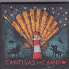 CDs de Música: CANTIGAS DO CAMINO (2012, CD BOOK) - 13 CANCIONES - 77 PÁGINAS.. Lote 51021570