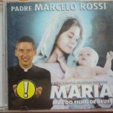 CD de Música: CD PADRE MARCELO ROSSI: MARIA, MÂE DO FILHO DE DEUS (2003) MUY BUEN ESTADO. Lote 51032273