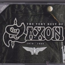 CDs de Música: SAXON - THE VERY BEST OF - 3 CDS - 1979 1988. Lote 144540684