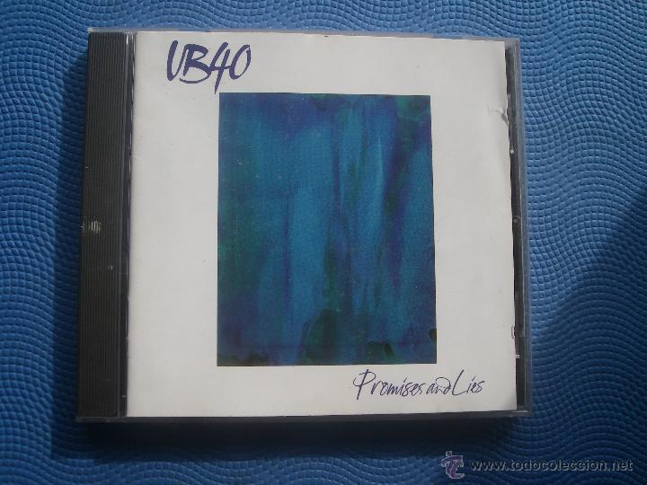 UB 40 PROMISES AND LIES CD ALBUM PEPETO (Música - CD's Reggae)