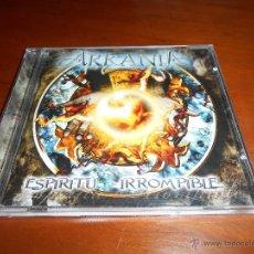 CDs de Música: ARKANIA - ESPIRITU IRROMPIBLE CD 2007 AVISPA METAL ZENOBIA. Lote 51090810