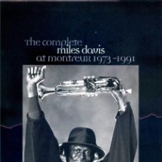 CDs de Música: MILES DAVIS – THE COMPLETE MILES DAVIS AT MONTREUX 1973-1991. 20 CDS. Lote 50874844