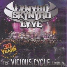 CDs de Música: LYNYRD SKYNYRD LYVE - THE VICIOUS CYCLE TOUR - ESTUCHE CON 2 CDS + DVD . Lote 51099388