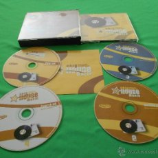 CDs de Música: ONLY HOUSE MUSIC ( TWENTY YEARS OF CLASSIC HOUSE ) - 4 CD - VALE MUSIC. Lote 51126577