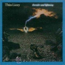 CDs de Música: THIN LIZZY - THUNDER AND LIGHTNING. Lote 51142644