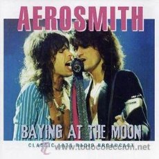 CDs de Música: AEROSMITH - BAYING AT THE MOON. Lote 51143244