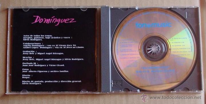 CDs de Música: SILVIO RODRIGUEZ - DOMINGUEZ (CD) 1996 - Foto 2 - 144894437