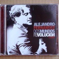 CDs de Música: ALEJANDRO FERNANDEZ - DOS MUNDOS REVOLUCION , EN VIVO (CD+DVD) 2010. Lote 114207106