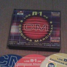 CDs de Musique: LOS NÚMEROS UNO DE CRÓNICAS MARCIANAS 3 CD´S. Lote 51144567