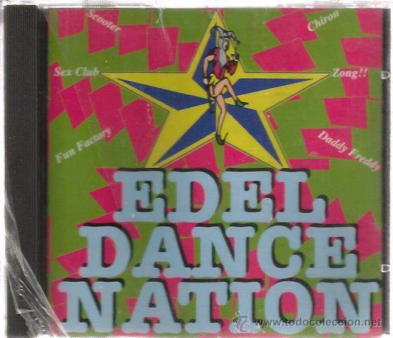 CD EDEL TRANCE NATION ( DANCE TRANCE MUSIC) SCOOTER, SEX CLUB, FUN FACTORY, ZONG, CHIRON, SUB-ZERO (Música - CD's Disco y Dance)