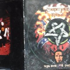 CDs de Música: MÚSICA CD SUPERJOINT RITUAL USE ONCE AND DESTROY NA.C. Lote 51249638