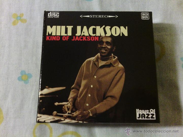 BOX 10CDS MILT JACKSON - KIND OF JACKSON / HOUSE OF JAZZ STEREO / VERY RARE!!!!!!!!!!!!!!!!!!!! (Música - CD's Jazz, Blues, Soul y Gospel)