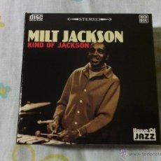 CDs de Música: BOX 10CDS MILT JACKSON - KIND OF JACKSON / HOUSE OF JAZZ STEREO / VERY RARE!!!!!!!!!!!!!!!!!!!!. Lote 51253196