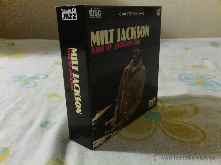 CDs de Música: BOX 10CDS MILT JACKSON - Kind Of Jackson / House Of Jazz Stereo / Very rare!!!!!!!!!!!!!!!!!!!! - Foto 2 - 51253196