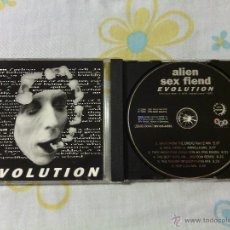 CDs de Música: CD ALIEN SEX FIEND - EVOLUTION / GOTHIC ROCK SINIESTRO / 1996. Lote 51300885