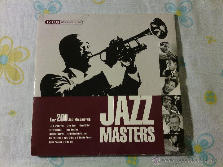 BOX SET 12CDS JAZZ MASTERS - VARIOS ARTISTAS / TANDEM AUDIO / VERY RARE!!!!!!!!!!!!!!!!!!!! (Música - CD's Jazz, Blues, Soul y Gospel)