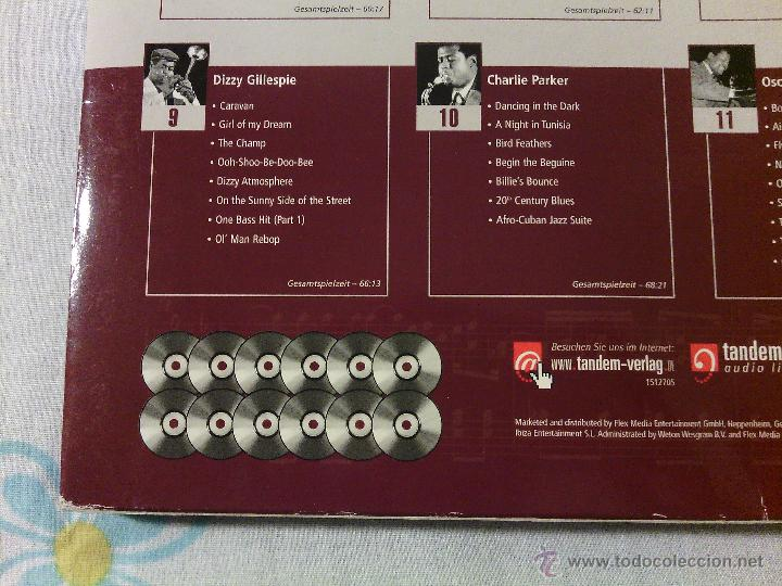 CDs de Música: BOX SET 12CDS JAZZ MASTERS - Varios Artistas / Tandem Audio / Very rare!!!!!!!!!!!!!!!!!!!! - Foto 3 - 51331541