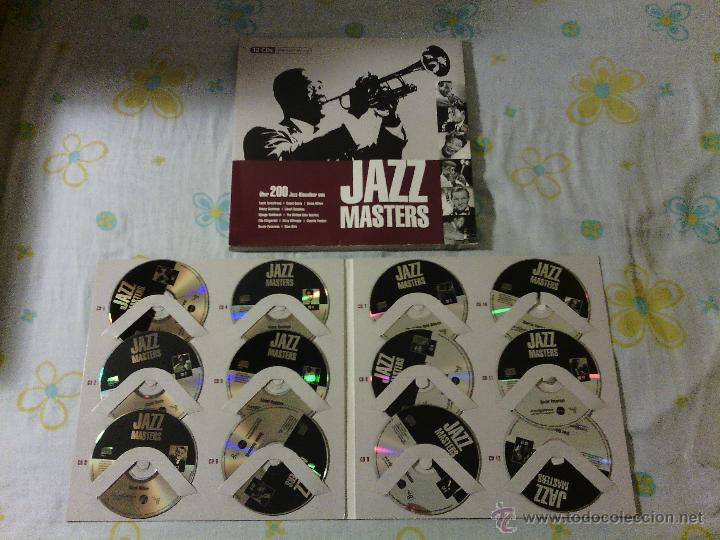 CDs de Música: BOX SET 12CDS JAZZ MASTERS - Varios Artistas / Tandem Audio / Very rare!!!!!!!!!!!!!!!!!!!! - Foto 7 - 51331541