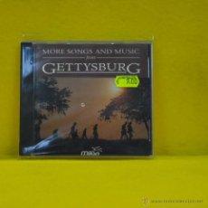 CDs de Música: VARIOS - MORE SONGS AND MUSIC FROM GETTYSBURG - CD. Lote 51341238