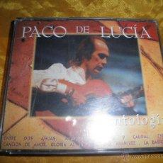 CDs de Música: PACO DE LUCIA. ANTOLOGIA. 2 CD´S. POLYGRAM 1995. Lote 144241212