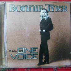 CDs de Música: BONNIE TYLER.ALL IN ONE VOICE...PEDIDO MINIMO 5€. Lote 51344597