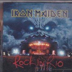 CDs de Música: IRON MAIDEN - ROCK IN RIO - 2 CDS. Lote 51354208