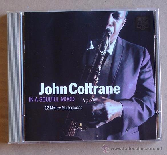 CDs de Música: JOHN COLTRANE - IN A SOULFUL MOOD (CD) 1994 - Foto 1 - 51356073