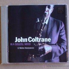 CDs de Música: JOHN COLTRANE - IN A SOULFUL MOOD (CD) 1994. Lote 51356073