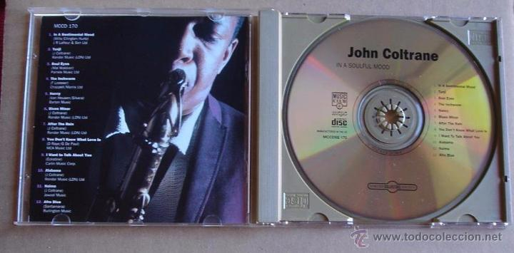 CDs de Música: JOHN COLTRANE - IN A SOULFUL MOOD (CD) 1994 - Foto 2 - 51356073