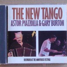 CDs de Música: ASTOR PIAZZOLLA & GARY BURTON - THE NEW TANGO (CD)1987. Lote 51356169