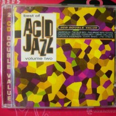 CDs de Música: THE BEST OF ACID JAZZ VOL 2....VV.AA...DOBLE CD. Lote 51362024